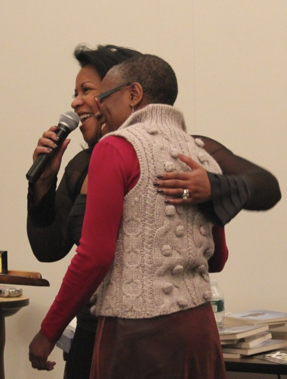 Rev Loving Awarding Lorraine