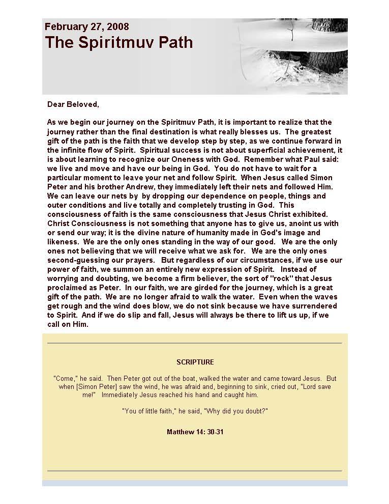 February 27, 2008 The Spiritmuv Path_Page_1