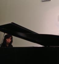 Jazz Vespers Norico on piano