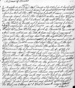 Rebeccas= Cox Manuscript