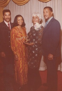 Dad and His Brother Dwight Sister Sandra and Mother Mary