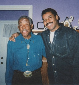 Dad and Christopher. Detroit 1998