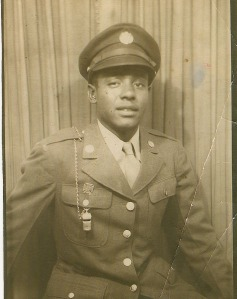 Dad in his World War II US Army Uniform. 1943
